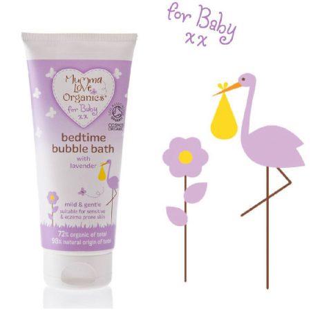 Пенка для ванны перед сном для младенцев